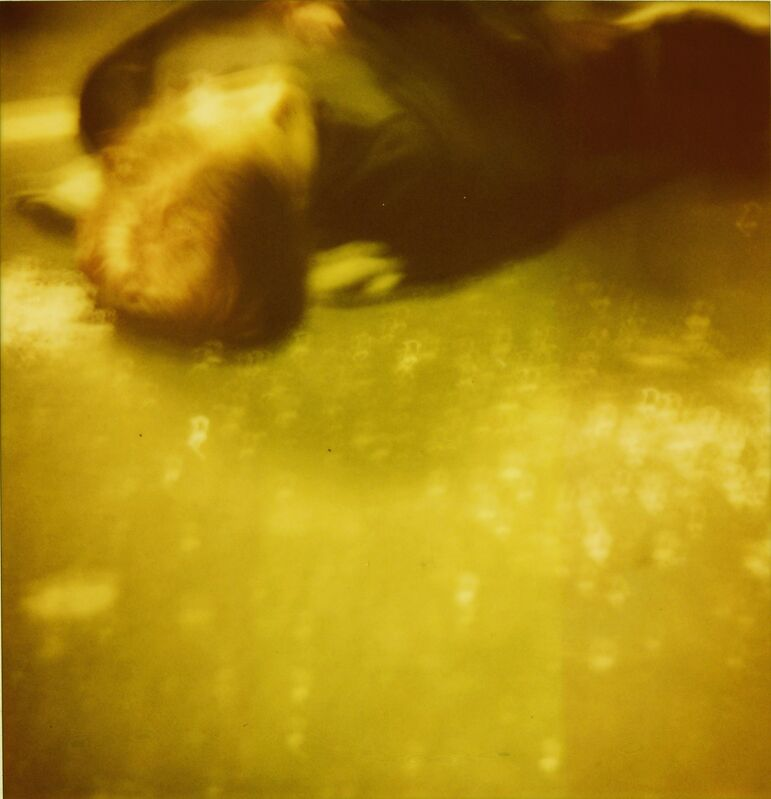 Stefanie Schneider, 'Accident I (Stay) analog, 128x125cm, starring Ryan Gosling', 2006, Photography, Analog C-Print based on a Polaroid, hand-printed by the artist on Fuji Crystal Archive Paper. Not mounted., Instantdreams
