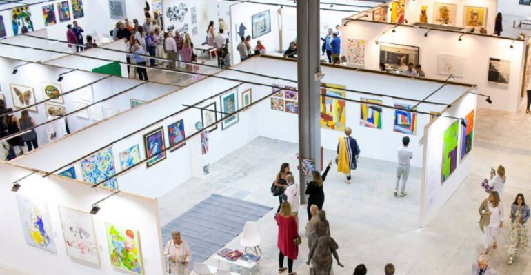 ACCS Visual Arts at ESTE ARTE 2020, installation view