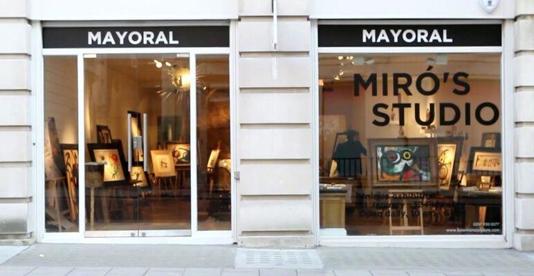 Miró's Studio, installation view