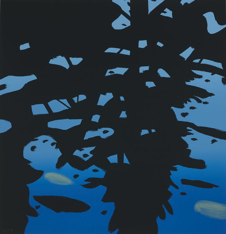 Alex Katz, 'Reflection', 2010, Print, Aquatint and photoengraving in colors on wove paper, Artsy x Seoul Auction