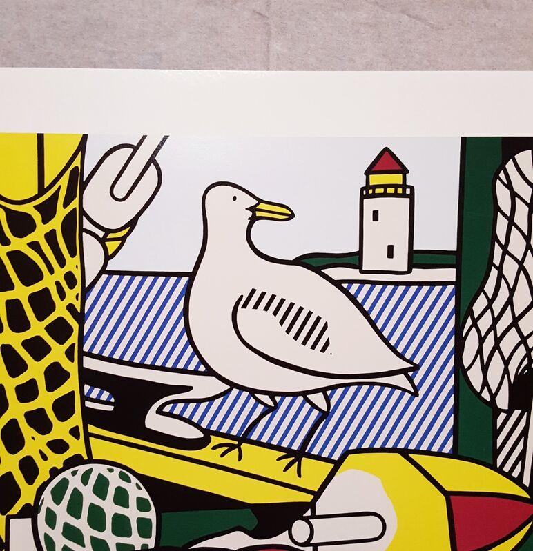 Roy Lichtenstein, 'Gagosian Gallery (Cape Cod Still Life II)', 2010, Posters, Offset-Lithoograph, Exhibition Poster, Graves International Art