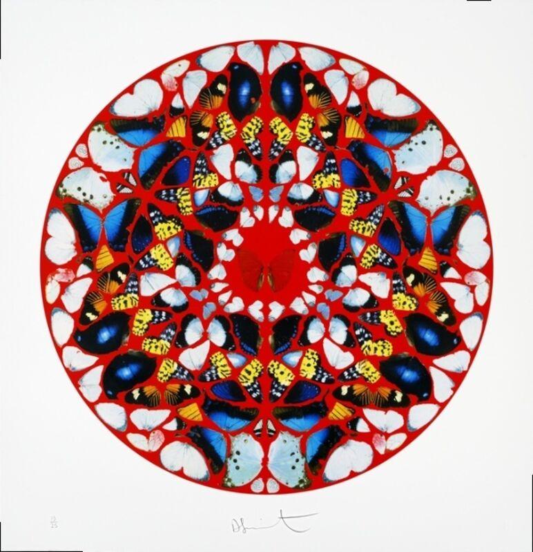 Damien Hirst, 'Domine, me in furore', Print, Silkscreen print with diamond dust, Eternity Gallery