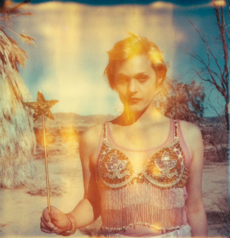 Stefanie Schneider, 'The Muse (29 Palms, CA)', 2009, Photography, Analog C-Print based on a Polaroid, hand-printed and enlarged by the artist on Fuji Crystal Archive Paper. Mounted on Aluminum with matte UV-Protection., Instantdreams