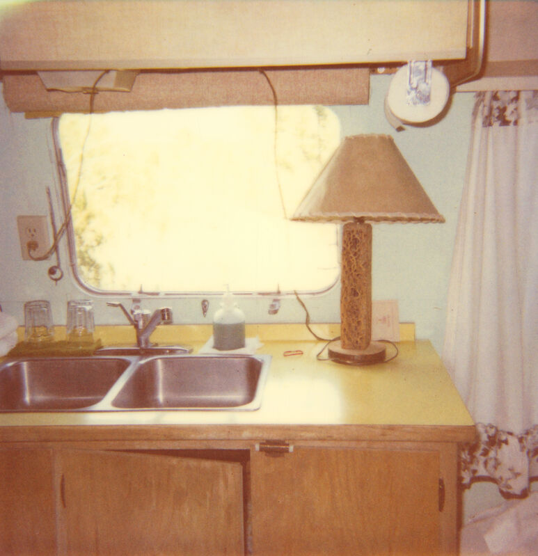 Stefanie Schneider, 'Airstream trailer outside of 29 Palms (Sidewinder)', 2005, Photography, Digital C-Print based on a Polaroid, not mounted, Instantdreams