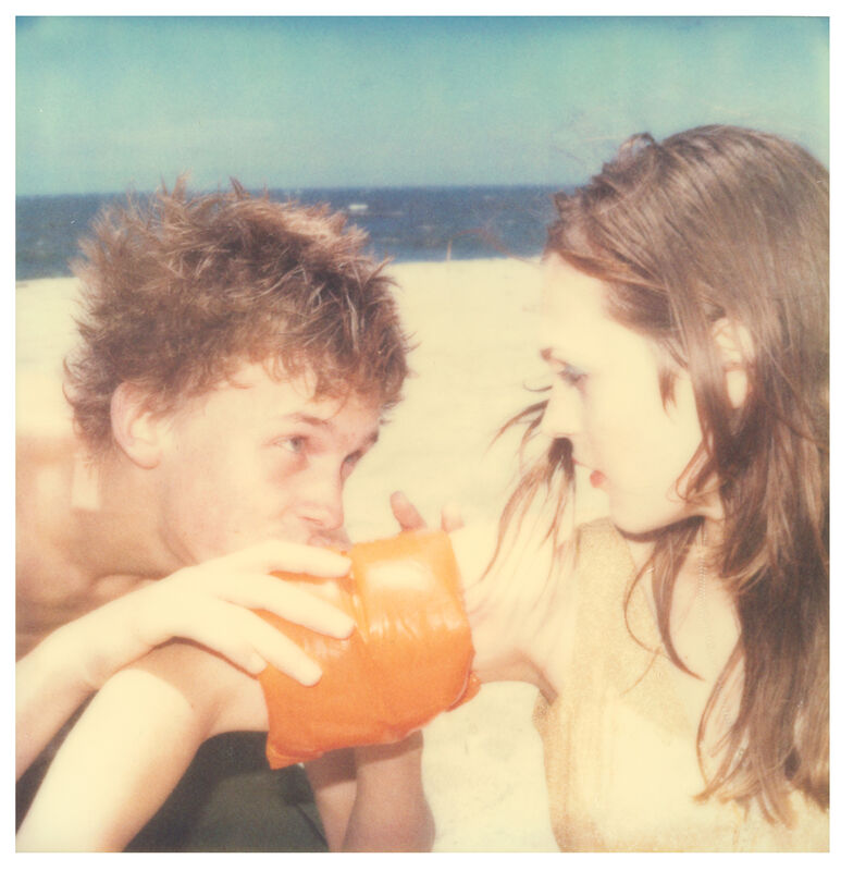 Stefanie Schneider, 'Floaties #3 (Beachshoot)', 2005, Photography, Digital C-Print, based on a Polaroid, Instantdreams
