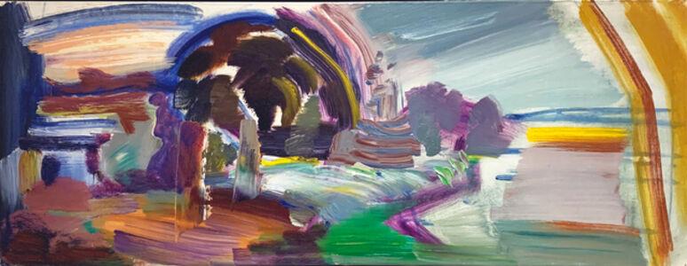 Ivon Hitchens, 'Tree, Sky, Ragwort', 1978