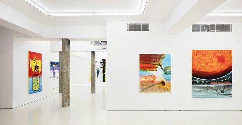 John Kørner: Space Train, installation view