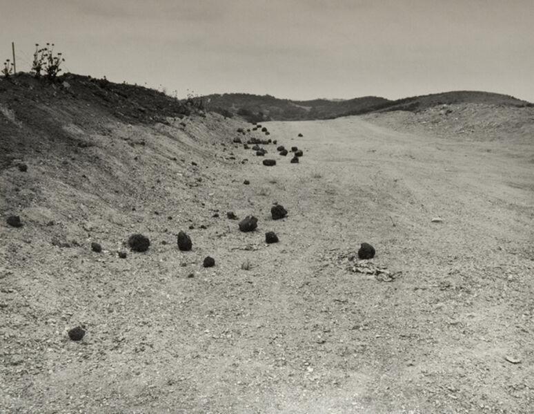 Joe Deal, 'Road Cut (Homage to Roger Fenton)', 1984