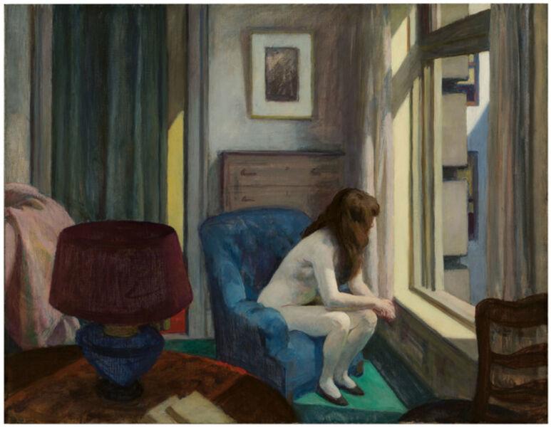 Edward Hopper, 'Elevan A.M.', 1926