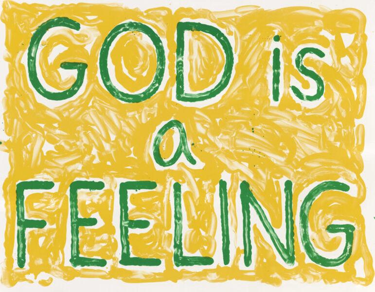 Jonathan Borofsky, 'God is a Feeling', 2010