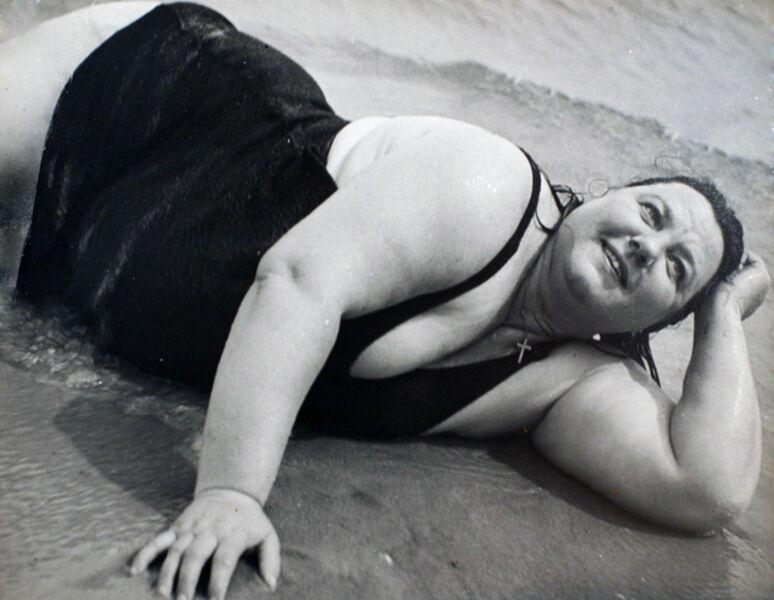 Lisette Model, 'Coney Island Bather, New York (Reclining)', 1939-1941