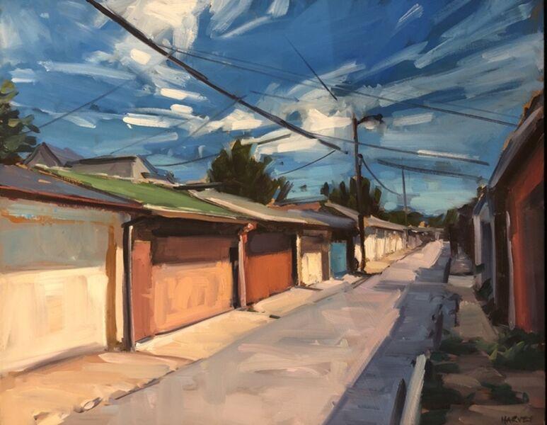 Brian Harvey, 'Garages North & Queen', 2018
