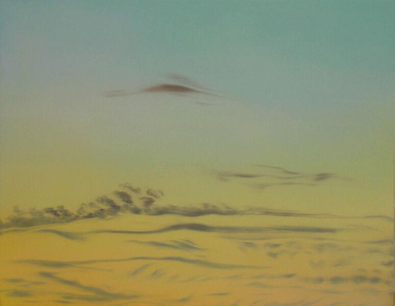 Helen Miranda Wilson, 'Cirrus Clouds, After Sunset', November-1997