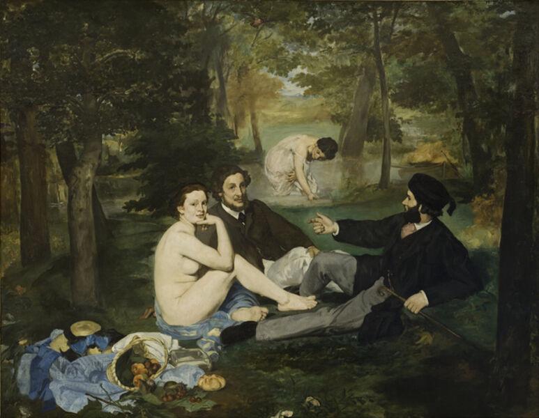 Édouard Manet, 'Luncheon on the Grass (Le Déjeuner sur l'herbe)', 1863