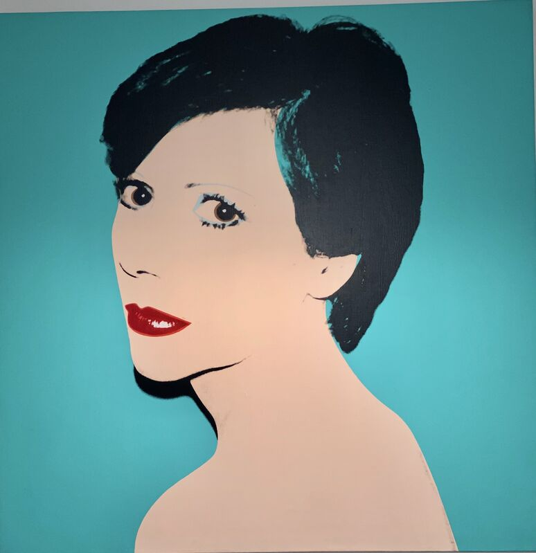 Andy Warhol, 'Andy Warhol Unidentified Woman (Lady ... Sister)', 1980, Painting, Polymer paint and silkscreen on canvas, Pellas Gallery