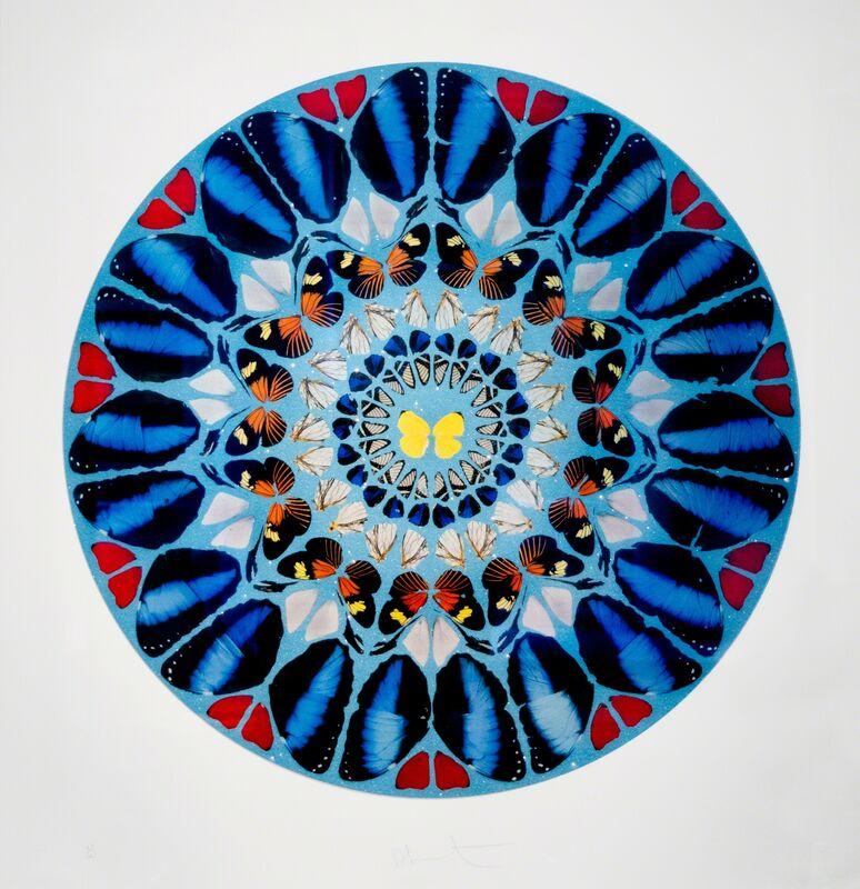 Damien Hirst, 'Psalm: Ad Te, Domine, Levavi', 2010, Print, Screenprint in colors with diamond dust, David Benrimon Fine Art