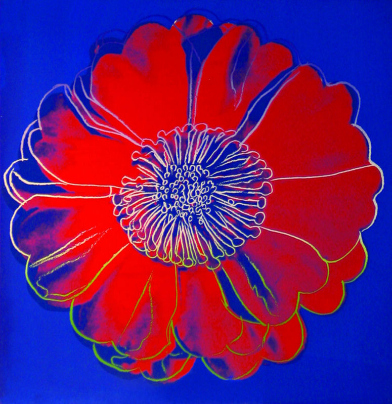 Andy Warhol, 'Flower for Tacoma Dome', 1982, Print, Unique silkscreen on paper, Woodward Gallery