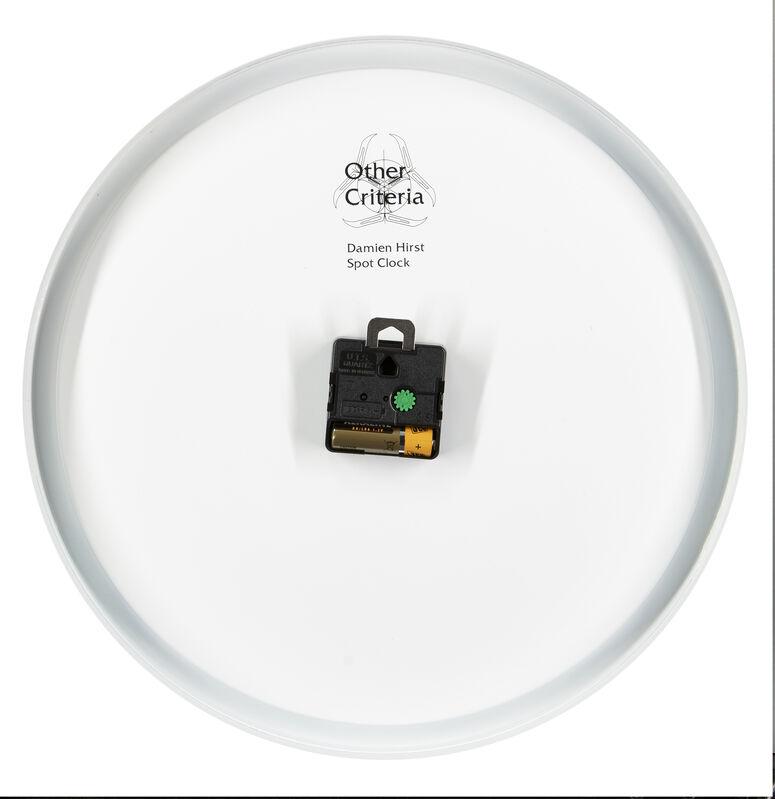 Damien Hirst, 'Spot Clock', 2009, Design/Decorative Art, Powdered metal clock in colours, Roseberys