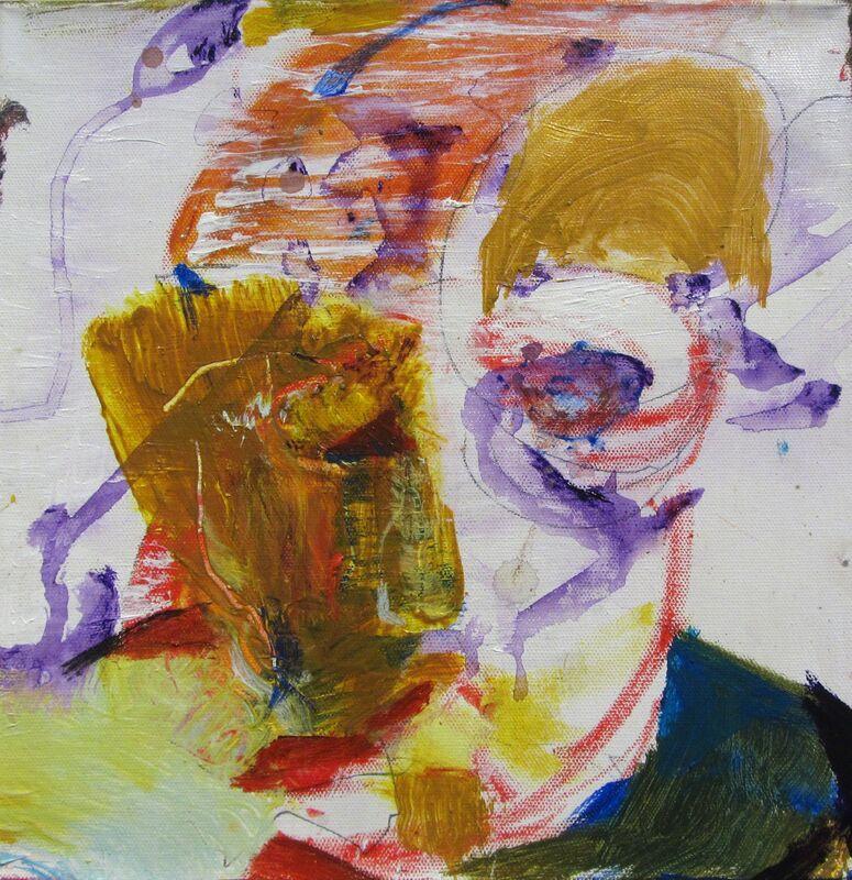 John Beardman, 'Self Portrait', 2017, Painting, Acrylic on Canvas, Carter Burden Gallery