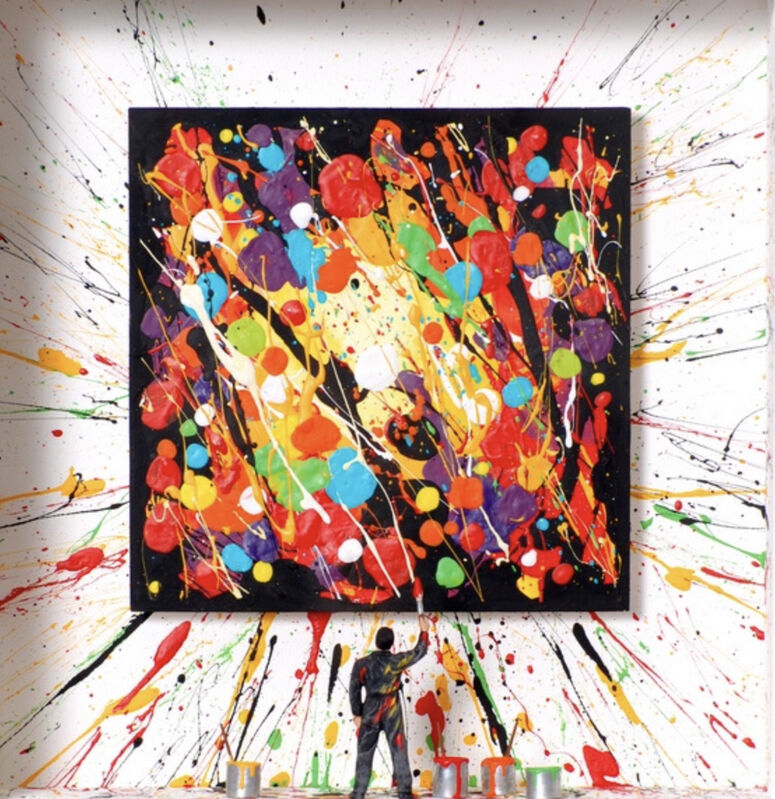 Volker Kühn, 'Splash of Colour ', 2021, Mixed Media, Mixed media, Plus One Gallery