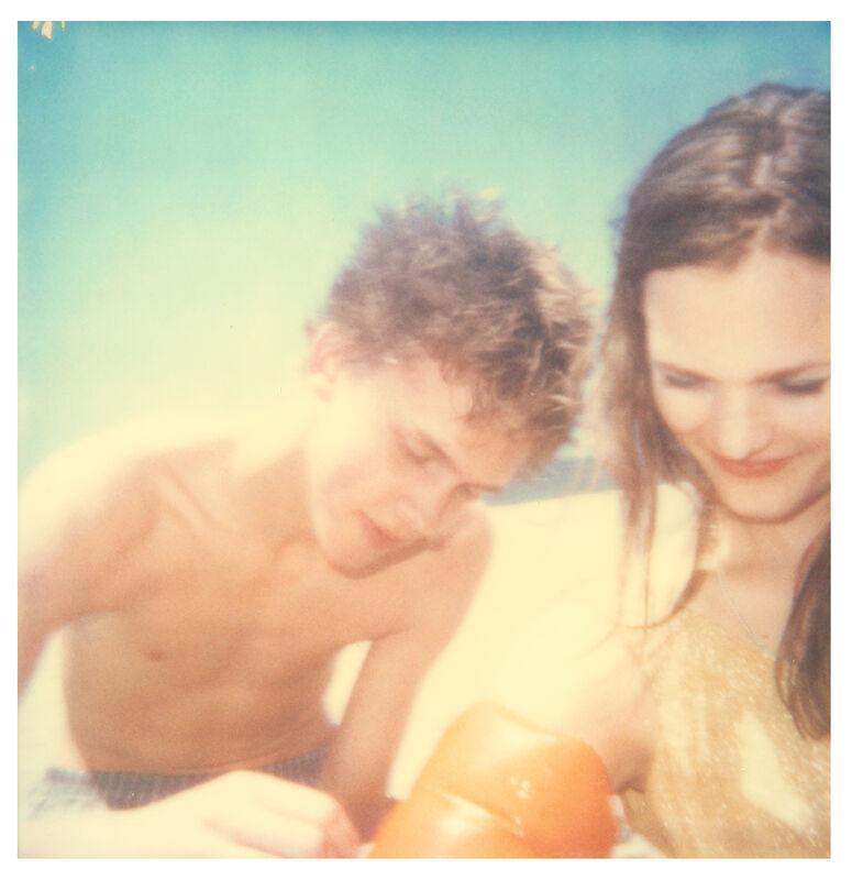 Stefanie Schneider, 'Floaties #4 (Beachshoot) ', 2005, Photography, Digital C-Print, based on a Polaroid, Instantdreams