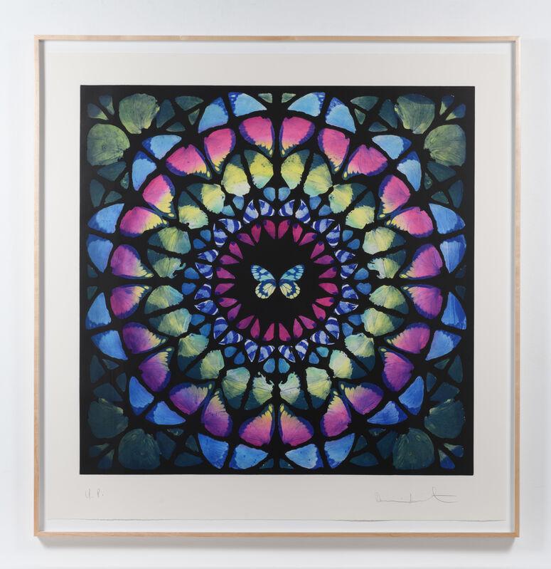 Damien Hirst, 'Sanctum (#257)', 2009-2014, Print, Unique color photogravure etching, Leslie Sacks Gallery