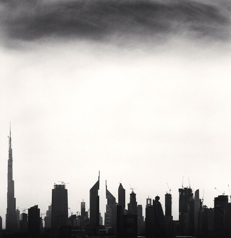 Michael Kenna, 'Skyline, Study3 -Dubai, United Arab Emirates.', 2009, Photography, Sepia toned silver gelatin print, Galeria de Babel