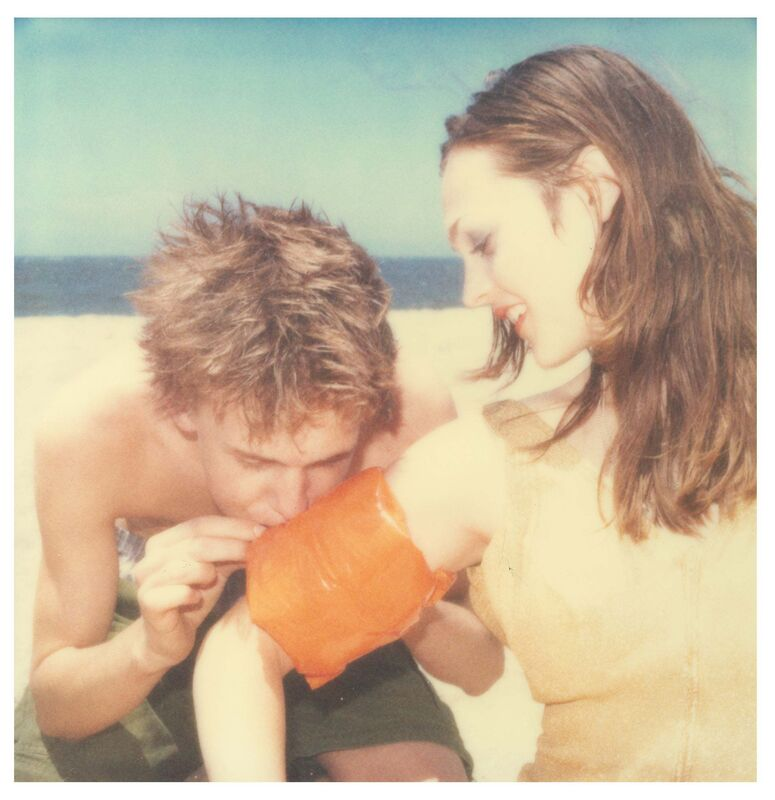 Stefanie Schneider, 'Floaties (Beachshoot)', 2005, Photography, Digital C-Print, based on a Polaroid, Instantdreams