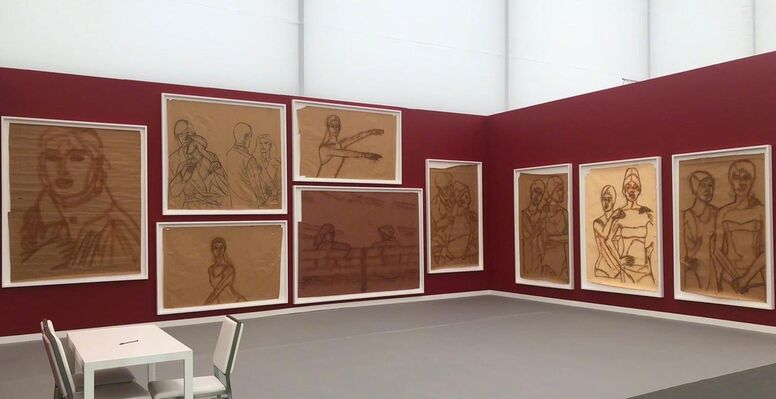 Javier Lopez & Fer Frances at Frieze New York 2019, installation view