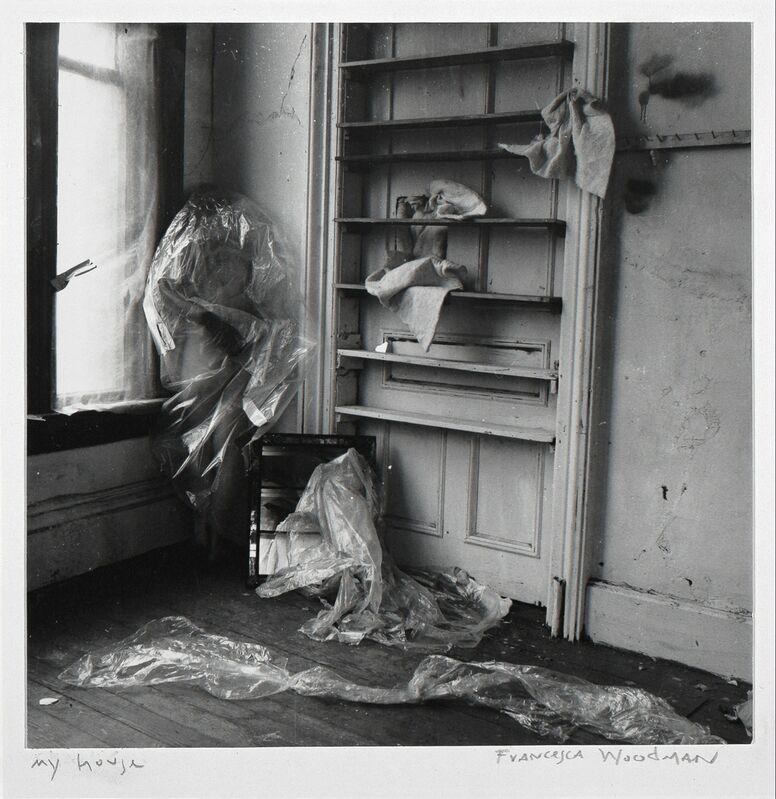 Francesca Woodman, 'My House, Providence, Rhode Island', 1976, Photography, Gelatin silver estate print, Ingleby Gallery