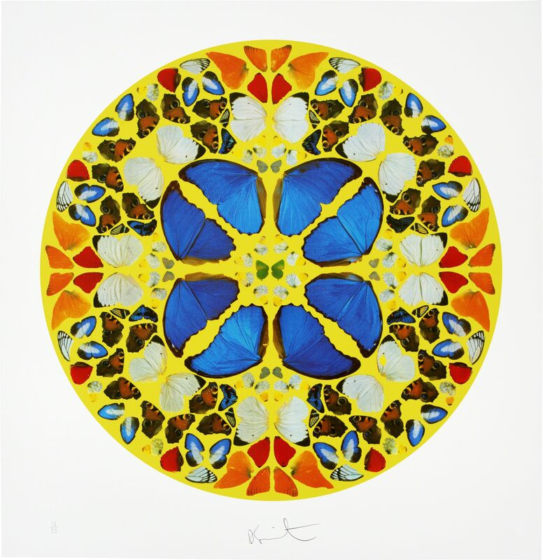 Damien Hirst, 'Psalm -  Domine, Dominus Noster', 2010, Print, Lithograph, Opera Gallery