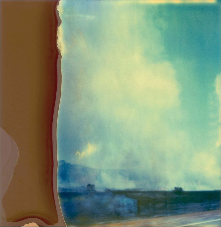 Stefanie Schneider, ' Burning Field  (Stranger than Paradise)', 2004, Photography, Digital C-Print, based on a Polaroid, mounted on Aluminum with matte UV-Protection, Instantdreams
