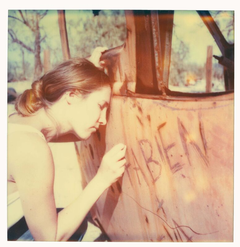 Stefanie Schneider, 'Fabien I (The Last Picture Show) ', 2005, Photography, Analog C-Print, hand-printed by the artist on Fuji Crystal Archive Paper, based on a Polaroid, not mounted, Instantdreams