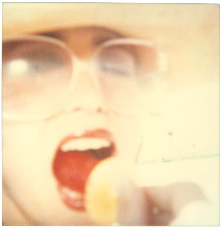 Stefanie Schneider, 'Lollipop (Beachshoot) ', 2005, Photography, Analog C-Print, hand-printed by the artist on Fuji Crystal Archive Paper, based on a Polaroid, not mounted, Instantdreams