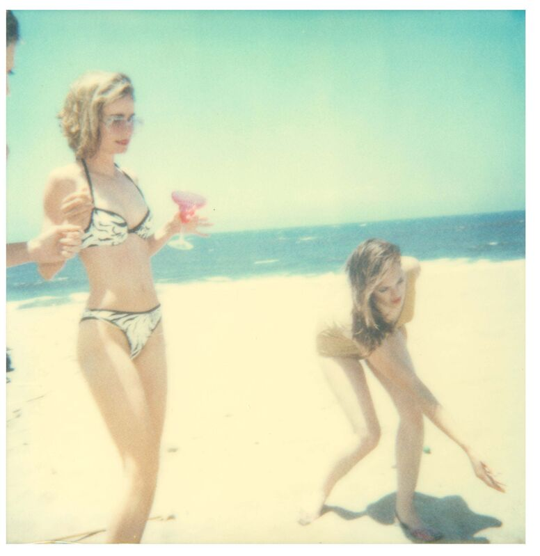 Stefanie Schneider, 'Untitled (Beachshoot) featuring Radha Mitchell', 2005, Photography, Digital C-Print, based on a Polaroid, Instantdreams