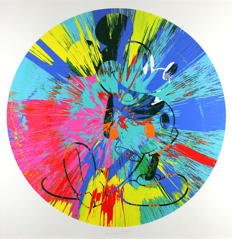 Damien Hirst, 'Beautiful Mickey', 2012, Print, Screenprint in Colors, on Wove Paper, Gormleys Fine Art