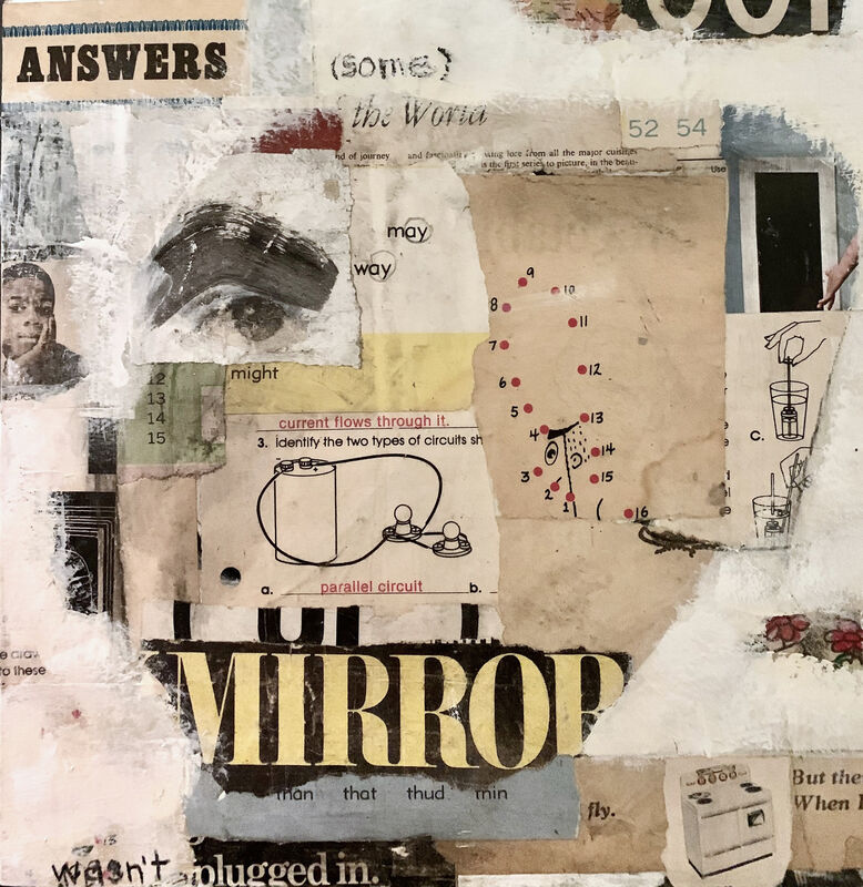 Casebeer, 'Answers (Some)', 2021, Painting, Collage and paint, McVarish Gallery