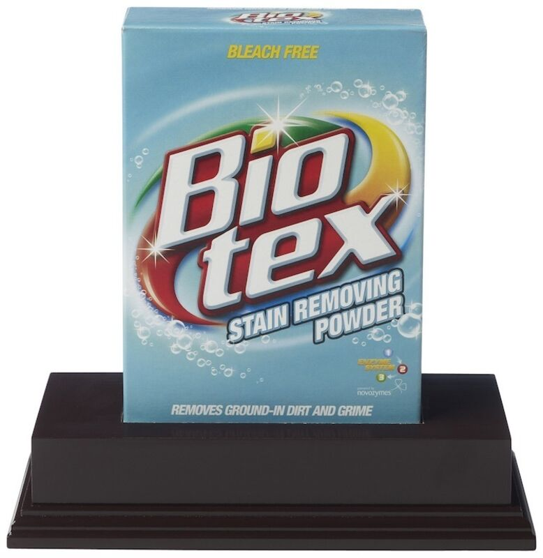 Damien Hirst, 'Biotex', 2014, Sculpture, Houshold stain remover with box, wooden plinth, Artificial Gallery