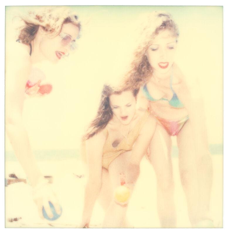 Stefanie Schneider, 'Boccia VII (Beachshoot)', 2005, Photography, Digital C-Print, based on a Polaroid, Instantdreams