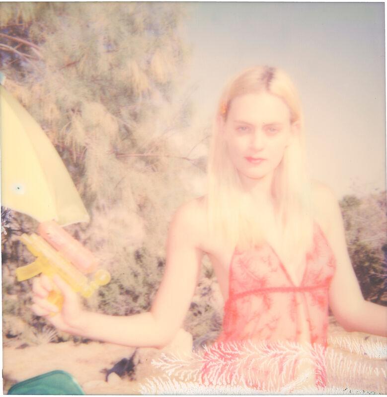 Stefanie Schneider, 'Half forgotten Dream (Heavenly Falls) ', 2016, Photography, Digital C-Print, based on a Polaroid, Instantdreams