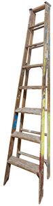 Jennifer Williams, 'Large Folding Ladder: Wooden with Paint', 2014