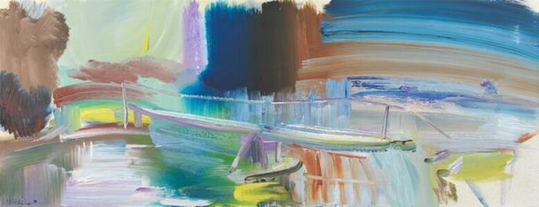 Ivon Hitchens, 'River at Avington No.1', 1965