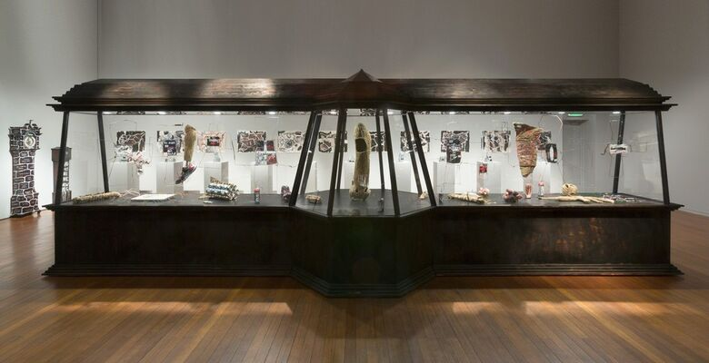 Fiona Hall | Gateless Gate, installation view
