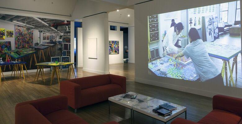 Ryan McGinness: Studio Visit, installation view