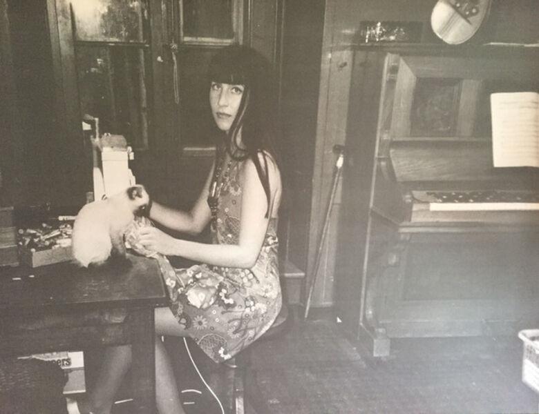 Annelies Strba, 'Linda at the sewing machine', 1993