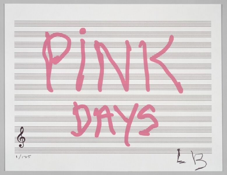 Louise Bourgeois, 'PINK DAYS', 2008