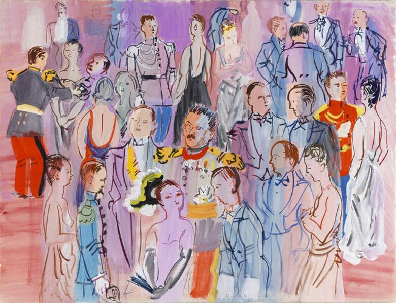 Raoul Dufy, 'La Réception à l'Amirauté (Reception at the Admiralty)', ca. 1935