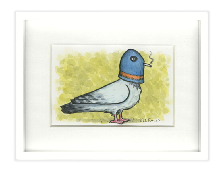 Todd Francis, 'SMALL PIGEON PAINTING', 2017