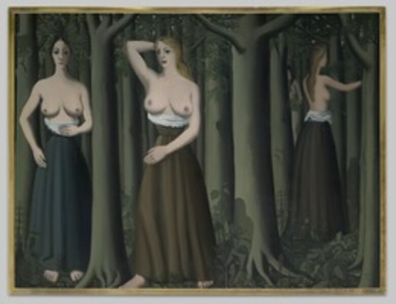 Paul Delvaux, 'The Forest', 1935