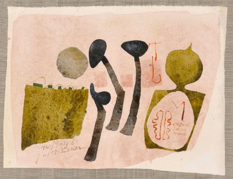 Julius Bissier, 'Casa di sacramento', 1961
